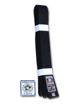 Černý pásek na kimono NORIS