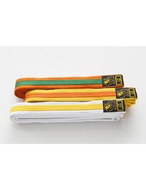 Pásek na kimono DAX dvoubarvy